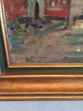 Vendo cuadro antiguo  Roko Matjasic , oleo sobre tela. segunda mano  Providencia | RM Santiago