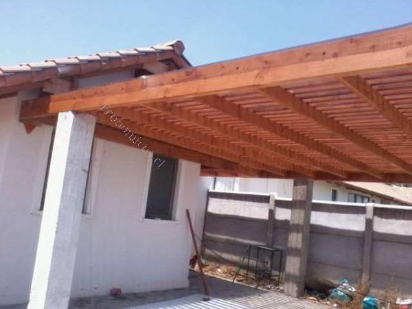 Cobertizo para automovil madera o fierro todo incluido for Cobertizos economicos