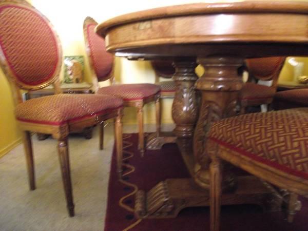 Vendo juego comedor y terraza buen estado encina madera for Juego comedor terraza madera