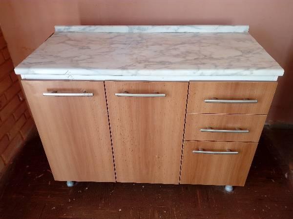 Mueble cocina, módulo 2 cajones, 3 puertas 105 cm 2017-12-10 ...