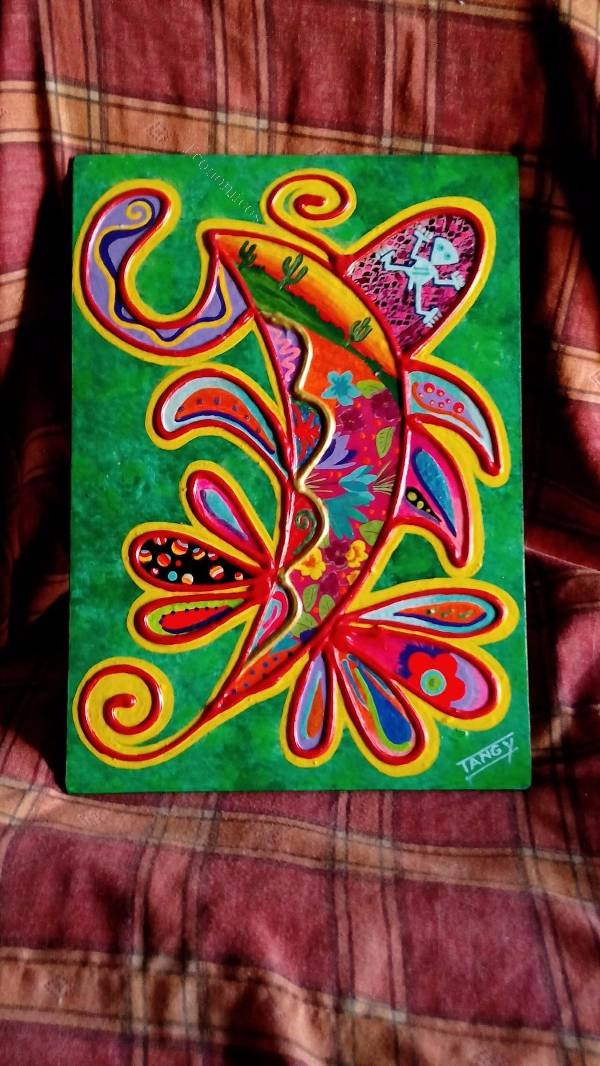 Vendo cuadros pintados en una t cnica nica en el mundo for Vendo papel pintado