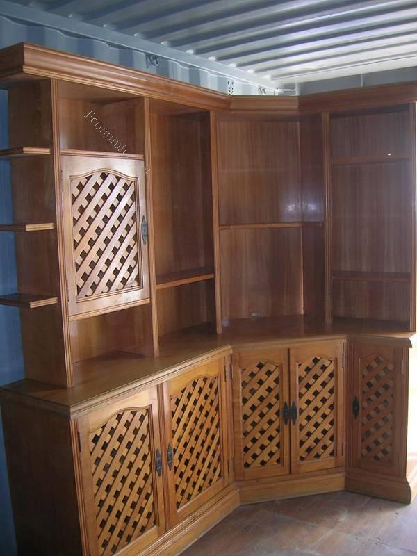 vendo mueble esquinero madera raul