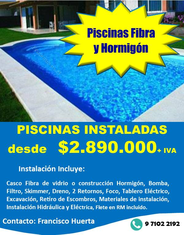 2890000 - Piscinas De Fibra
