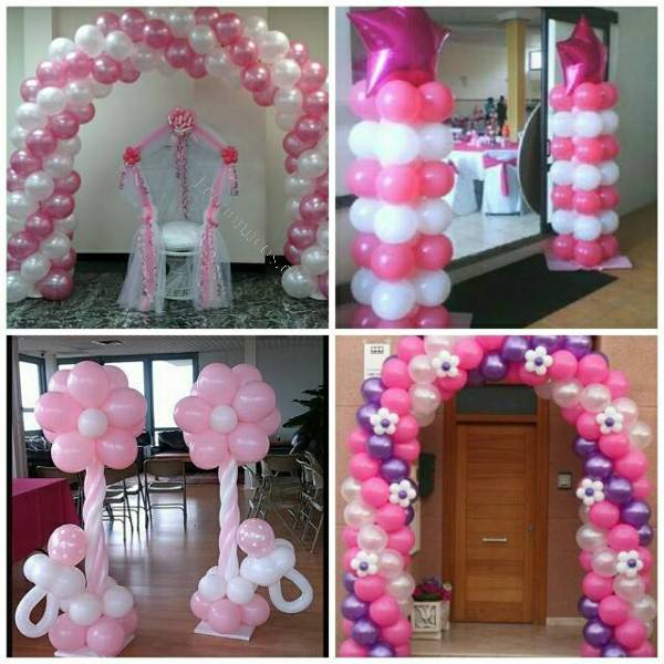 Pack decoracion con globos baby shower 2017 03 16 for Decoracion para pared de baby shower