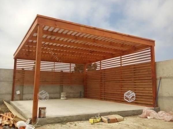 Cobertizos De Madera Pergolas Terrazas Quinchos 2019 06 12