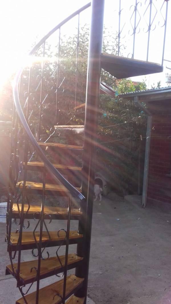 Vendo escalera semi caracol 2016 12 18 economicos de el - Escaleras semi caracol ...