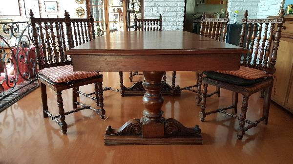 Comedor madera de cedro 8 sillas 2015 08 20 en for Comedores de madera baratos