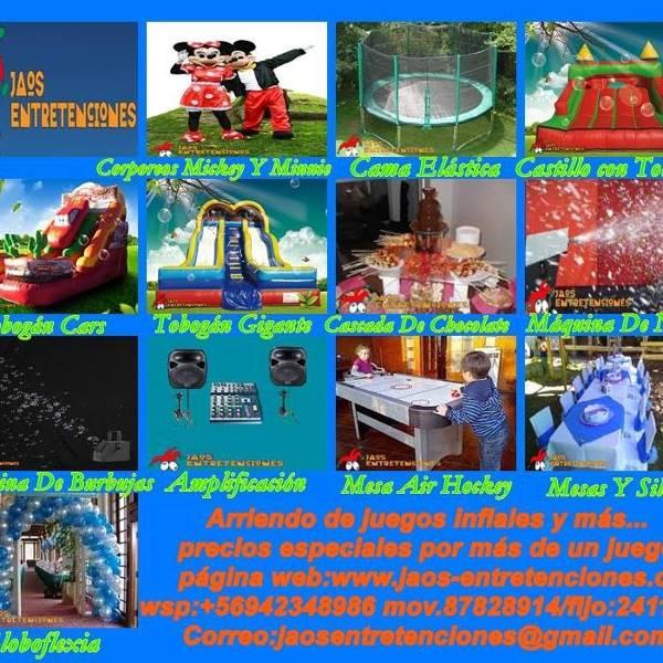 Arriendo De Juegos Inflables Y Mas En Curico Y Alrededores 2015 11