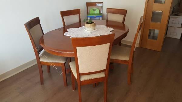 Juego comedor 6 sillas 2016 06 21 economicos de el mercurio for Juego comedor madera 6 sillas