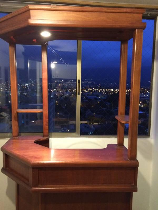 vendo bar madera con luz 2015 09 07 en economicos de el