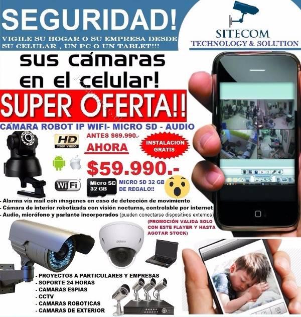 Camara seguridad ip robotica 2016 05 25 economicos de el - Camara seguridad ip ...