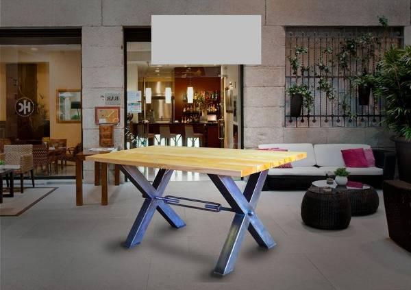 Mesa Comedor Oficina Terraza Diseño Industrial 2018-06-24 Economicos ...