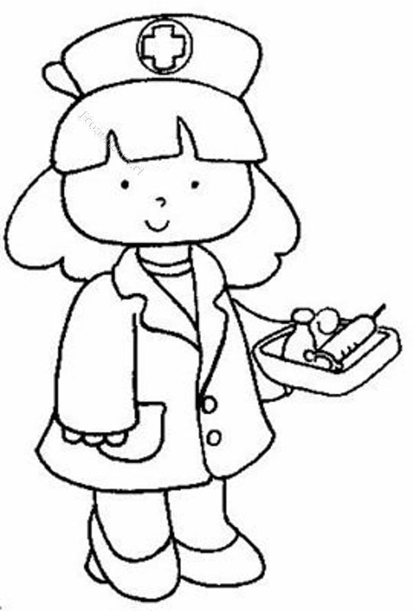 Único Hola Enfermera Kitty Para Colorear Bandera - Dibujos Para ...