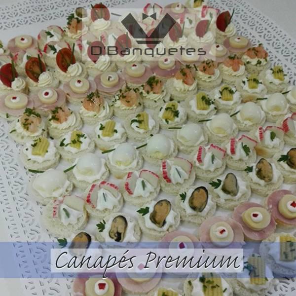 Canapes tapaditos empanadas coctail todo para tu evento for Canape para coctel