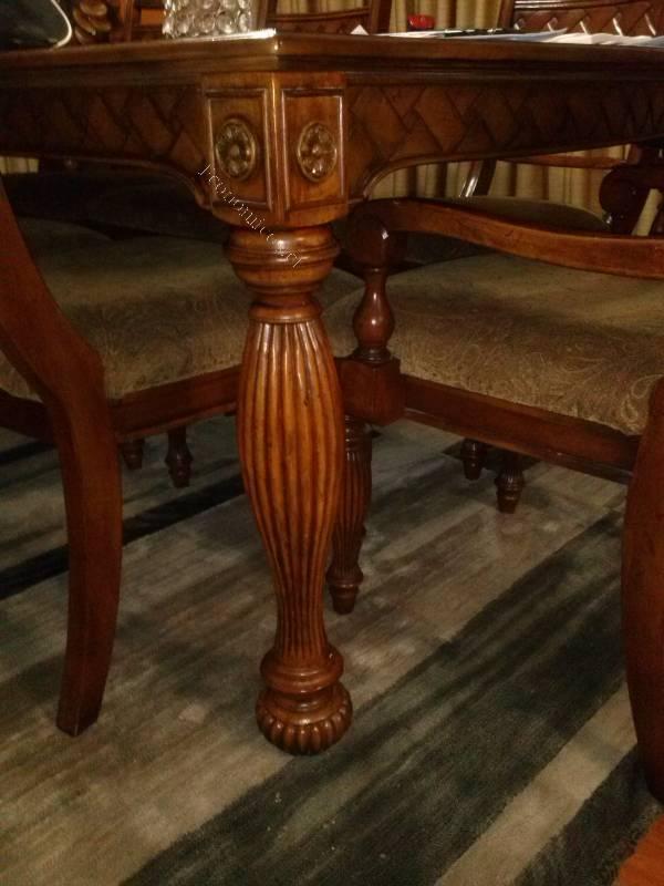 Juego de muebles estilo colonial 2015 11 30 economicos de - Muebles estilo colonial ...