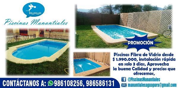 Precios de piscinas de fibra top como hacer una piscina for Piscinas de fibra de vidrio precios