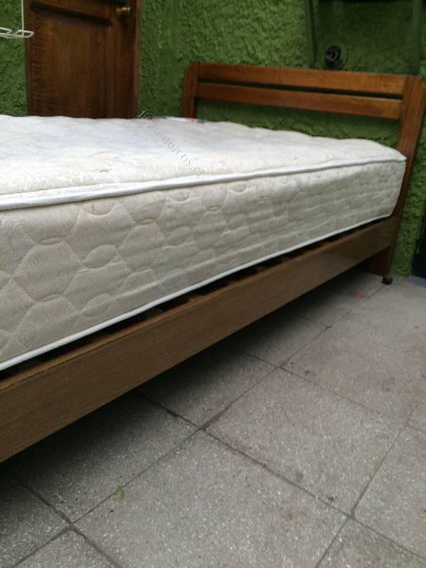 Vendo cama de madera cic de 1 y 1 2 plaza 2016 12 25 for Vendo sofa cama 1 plaza