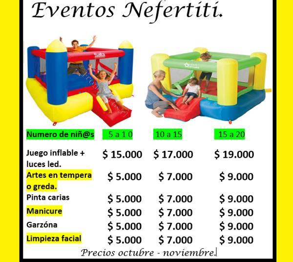 Arriendo De Juegos Inflables 2016 10 14 En Economicos De El Mercurio