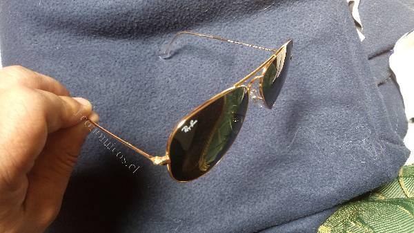 gafas ray ban enchapadas en oro