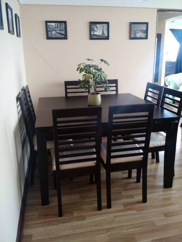 Vendo comedor 8 sillas nuevo 2015 05 18 en economicos for Vendo sillas comedor