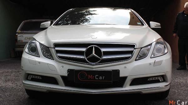 Mercedes Benz E500 Coupe 2018 11 27 Economicos De El Mercurio