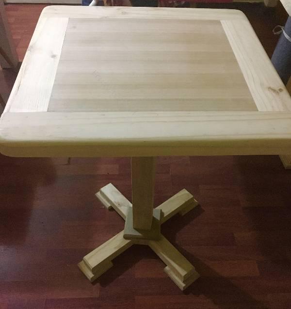 Vendo 5 mesas de madera nuevas restaurante bar casa 2016 for Vendo casa de madera