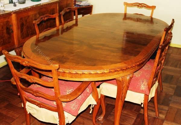 Vendo mesa comedor de fina madera. Muebles Traiguen. 2016-06-15 en ...