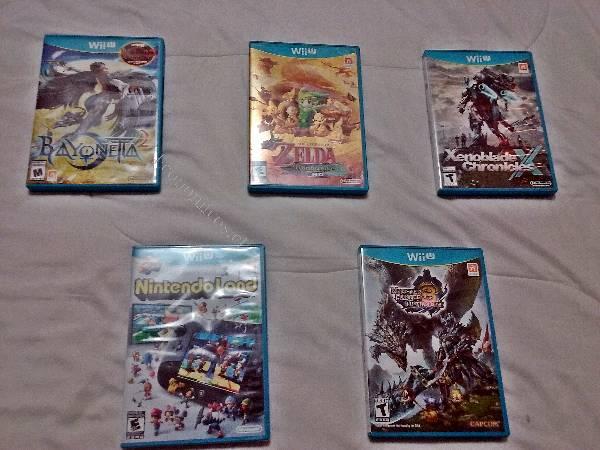 Juegos Wii U 10/10 y SD con juegos para loadiine 2016-12-05