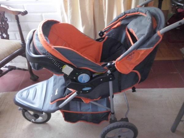 Coche jogger infanti silla nido base para auto y rueda for Sillas seguridad coche