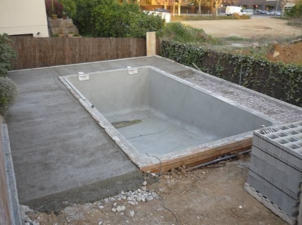 Construccion de terrazas cobertizos piscinas y quinchos - Diseno y construccion de piscinas ...
