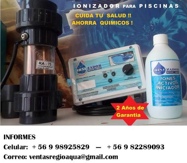 Ionizador para piscina 150 m3 agua 2017 05 27 en for Ionizador piscina
