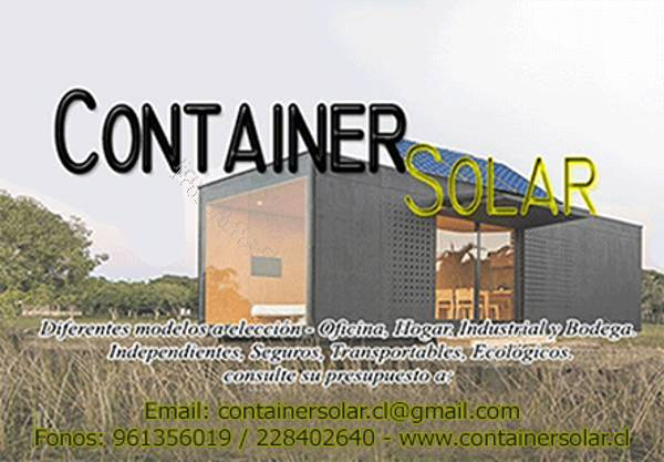 Container Habitable - Container Solar