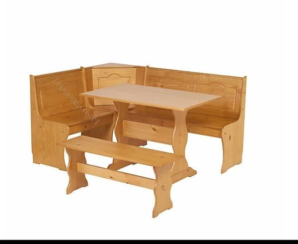Pin vendo comedor de muebles sur precio 280 000 for Mesa esquinera cocina sodimac