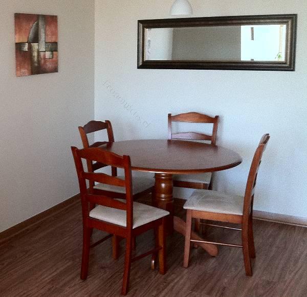 OFERTA!!. Vendo comedor mesa redonda con 4 sillas 2017-11-10 ...