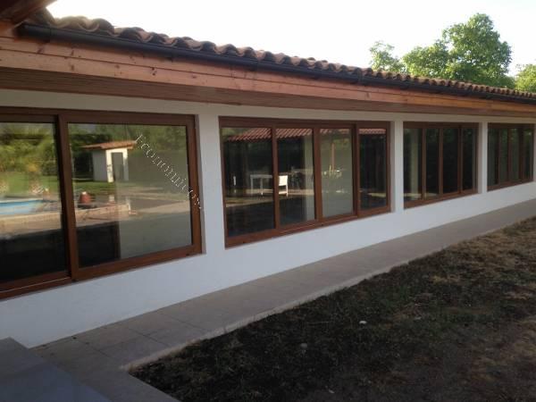 Ventanas de pvc aluminio cierre de terraza 2015 07 30 - Cierres de aluminio para terrazas ...