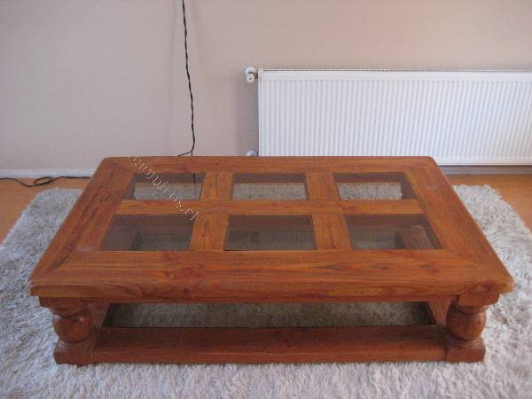 Vendo mesa de centro de madera alerce nico modelo 2015 02 - Modelos de mesa de centro ...