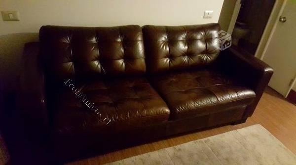 Sofa cuero rosen zurich 3 cuerpos poco uso 2015 06 18 for Sofa rosen mira 3 cuerpos