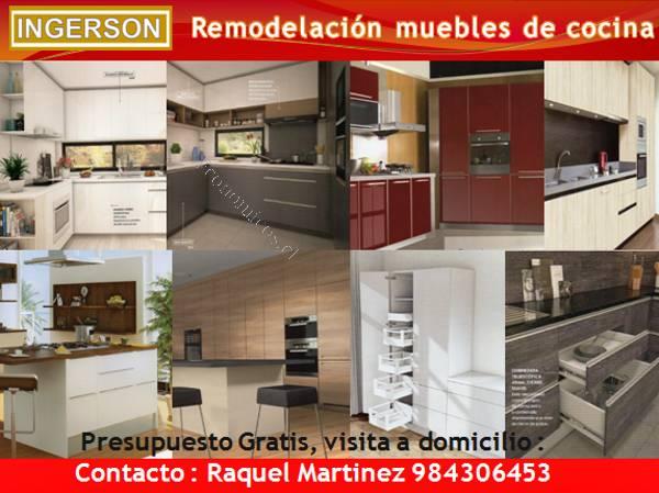 Reparación Muebles de Cocina 2018-10-16 en Economicos de El Mercurio
