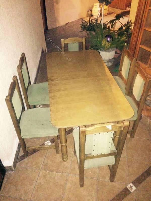 Vendo comedor con 6 sillas 2015 08 24 economicos de el for Vendo sillas comedor