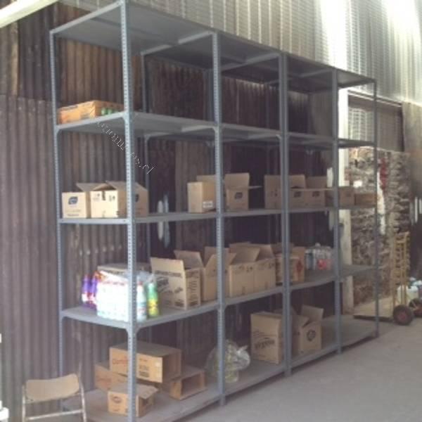 Rack estante para bodega liquido 2016 02 24 economicos de - Estantes para bodegas ...