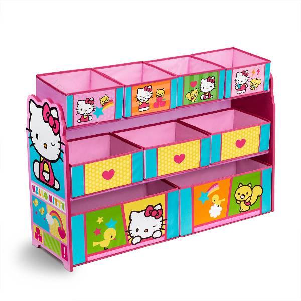Organizador de juguetes hello kitty 2016 10 20 economicos - Organizador de juguetes ...