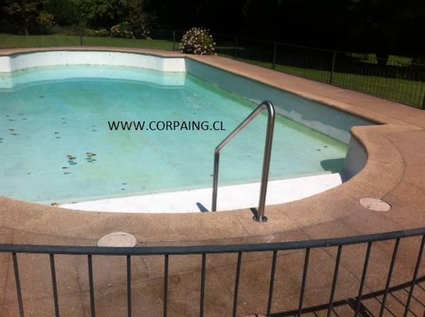Pasamanos para piscinas 2017 06 07 economicos de el mercurio for Piscina walker martinez