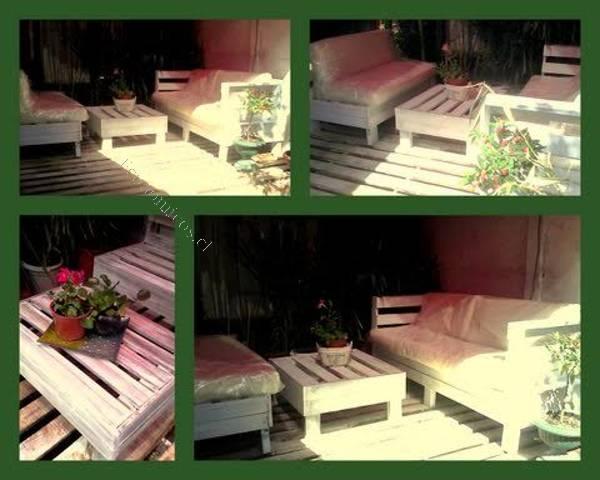 Muebles pallets terraza 20170824031613 for Muebles terraza economicos