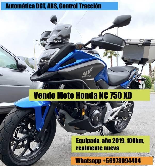 Moto Honda Nc 750 Xd Prácticamente Nueva 2019 02 06 Economicos De El