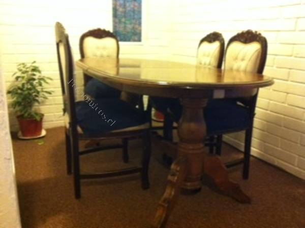 Vendo comedor 4 sillas 2015 05 01 economicos de el mercurio for Vendo sillas comedor