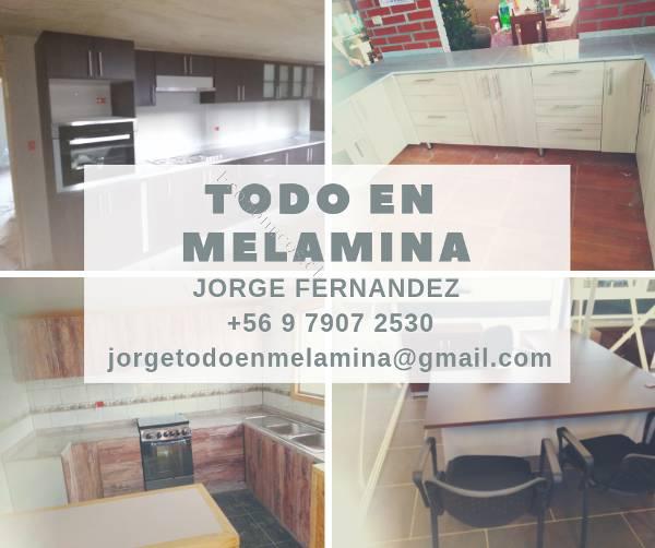 Fabricacion de Muebles de Cocina y Closet en Melamina - RM ...