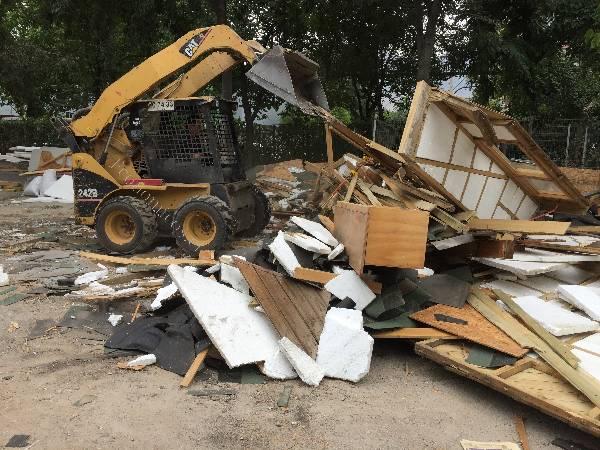 Retiro de escombros - Materiales de construccion baratos ...