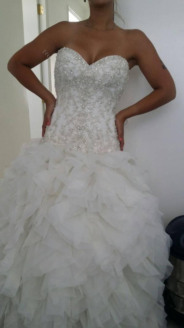 Vestidos de novia mori lee 2015