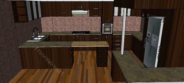 Muebles Cocina Americana a Medida 2015-05-31 en Economicos de El ...