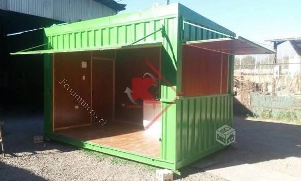 Ventas de container oficina bodega kioscos 2017 05 31 for Kioscos prefabricados
